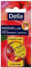 "Парфюми, Парфюмерия, козметика Балсам за устни ""Juicy Mango"" - Delia Extreme Care Lip Butter With Argan Oil+Vitamin E"