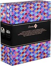 Парфюмерия и Козметика Комплект четки за грим в калъф, 12 бр. - Inter-Vion Beauty Look