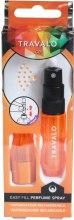 Парфюмерия и Козметика Прафюмен флакон-пълнител - Travalo Ice Orange Refillable Spray