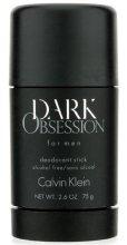 Парфюми, Парфюмерия, козметика Calvin Klein Dark Obsession - Стик дезодорант