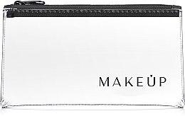 """Парфюми, Парфюмерия, козметика Козметичен прозрачен несесер """"Flat Glow"""" 20x10cm - MakeUp"""