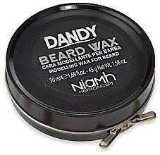 Парфюми, Парфюмерия, козметика Моделиращ восък за брада и мустаци - Niamh Hairconcept Dandy Beard Wax Modelling