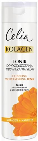 Почистващ тоник за лице - Celia Collagen Cleansing Tonic