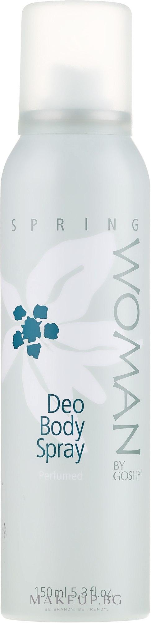 Спрей дезодорант - Gosh Woman Spring Deo Body Spray — снимка 150 ml