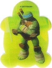 """Парфюмерия и Козметика Детска гъба за баня """"Костенурките Нинджа"""" Leonardo 6 - Suavipiel Turtles Bath Sponge"""