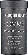 Парфюмерия и Козметика Стилизираща пудра-восък за коса - La Biosthetique Homme Powder Wax