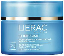 Парфюмерия и Козметика Възстановяващ балсам за лице и зоната на деколтето - Lierac Sunissime Global
