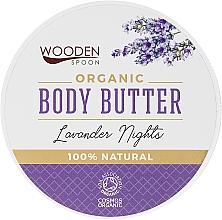 Парфюмерия и Козметика Масло за тяло с лавандула - Wooden Spoon Lavander Nights Body Butter