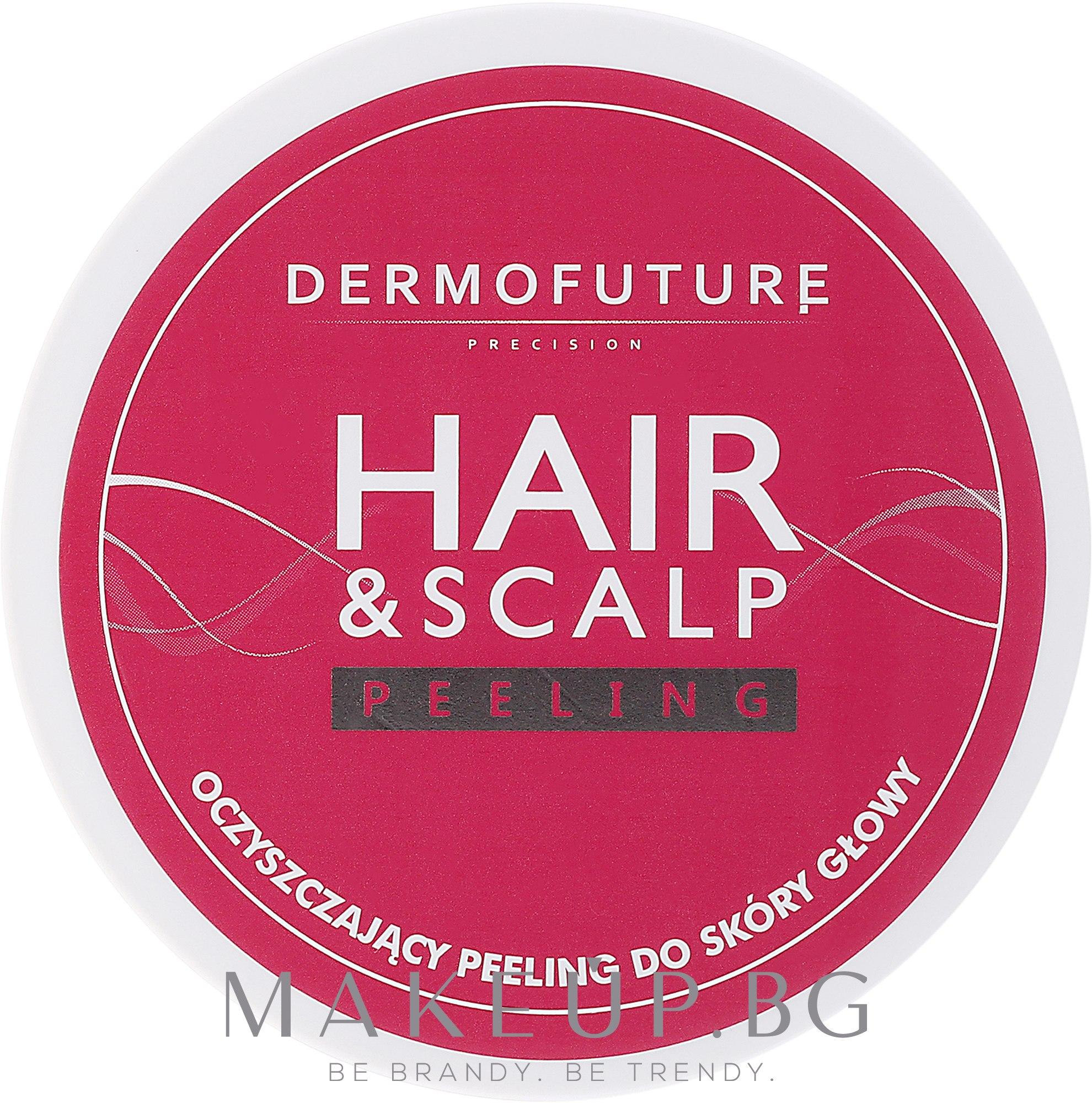 Пилинг за скалп - DermoFuture Hair&Scalp Peeling — снимка 300 ml
