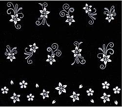 Парфюми, Парфюмерия, козметика Декориращи лепенки за нокти - Peggy Sage Decorative Nail Stickers Twilight Chic (1бр)