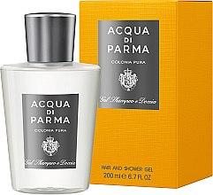 Парфюми, Парфюмерия, козметика Душ гел - Acqua di Parma Colonia Pura Hair and Shower Gel