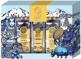Парфюмерия и Козметика Комплект - Natura Siberica Tuva Yak Milk (балсам за ръце/75ml + шампоан/300ml + балсам/300ml)