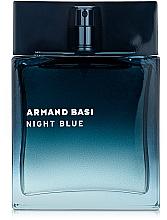 Парфюмерия и Козметика Armand Basi Night Blue - Тоалетна вода