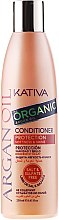 Парфюмерия и Козметика Овлажняващ балсам за коса с арганово масло - Kativa Argan Oil Conditioner