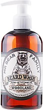Парфюмерия и Козметика Шампоан за брада - Mr. Bear Family Beard Wash Woodland