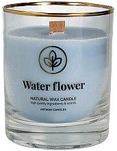 Парфюми, Парфюмерия, козметика Декоративна свещ в чаша, 8х9.5см - Artman Organic Water Flower