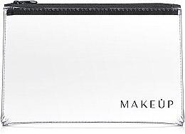 """Парфюми, Парфюмерия, козметика Козметичен прозрачен несесер """"Flat Glow"""" 26x16cm - MakeUp"""