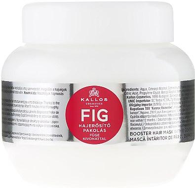 "Маска за коса с витаминен комплекс ""Смокиня"" - Kallos Cosmetics FIG Booster Hair Mask With Fig Extract"
