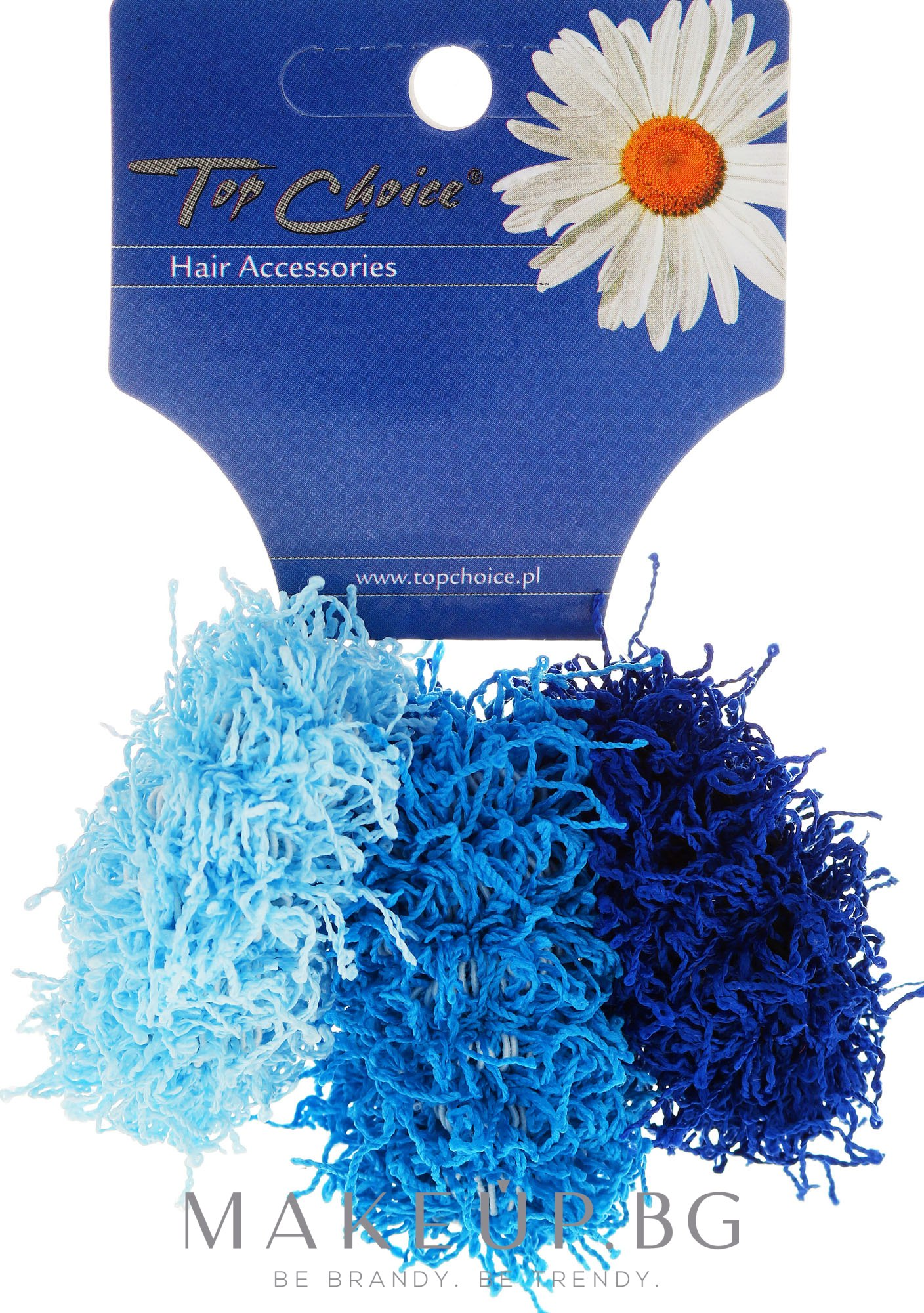 Ластици за коса 3 бр. 21695 - Top Choice — снимка 3 бр