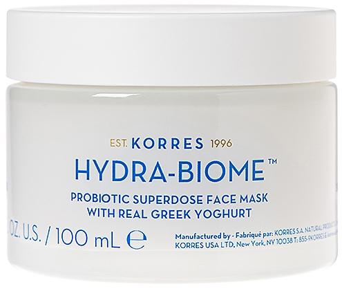 Маска за лице с гръцки йогурт - Korres Greek Yoghurt Hydra-Biome Probiotic Superdose Face Mask — снимка N1