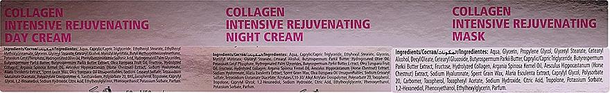 Комплект за лице - Dermacol Collagen+ (дневен крем/50ml + нощен крем/50ml + маска/2x8g) — снимка N2