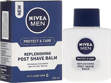 Възстановяващ балсам за след бръснене - Nivea For Men Replenishing After Shaving Balm — снимка N1