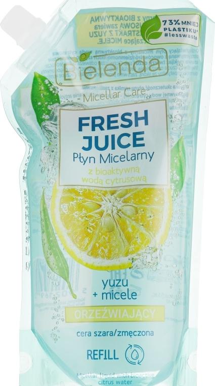 Мицеларна вода с юзу - Bielenda Fresh Juice Detoxifying Face Micellar Water Yuzu