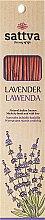 """Парфюми, Парфюмерия, козметика Ароматни пръчици """"Лавандула"""" - Sattva Lavender"""