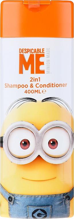 Детски шампоан и балсам за коса 2в1 - Corsair Despicable Me Minions 2in1 Shampoo&Conditioner