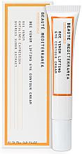Парфюмерия и Козметика Околоочен лифтинг крем с пчелна отрова - Beaute Mediterranea Bee Venom Lifting Eye Contour Cream