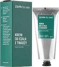 Парфюми, Парфюмерия, козметика Крем за лице и тяло - Zew For Men Face And Body Cream
