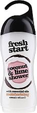 Парфюмерия и Козметика Гел за душ - Xpel Marketing Ltd Fresh Start Coconut & Lime Shower Gel