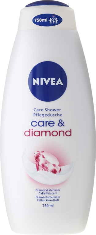 Крем-душ гел - Nivea Care & Diamond Cream Shower Oil