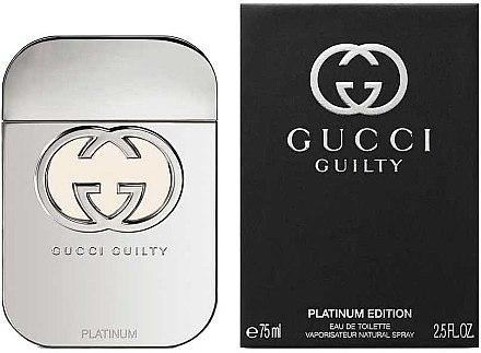 Gucci Guilty Platinum Edition - Тоалетна вода — снимка N2