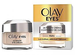 Парфюмерия и Козметика Околоочен крем - Olay Eyes Ultimate Eye Contour Cream