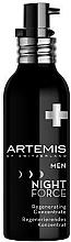 Парфюмерия и Козметика Възстановяващ концентрат за лице - Artemis of Switzerland Men Night Force Regenerating Concentrate