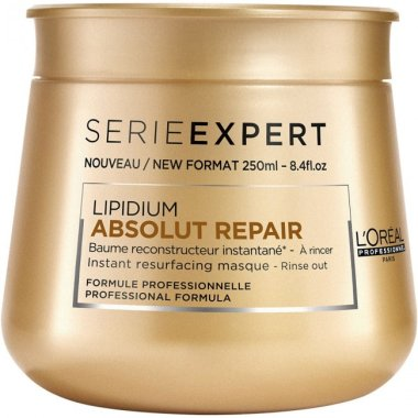 Маска за възстановяване на увредена коса - L'Oreal Professionnel Absolut Repair Lipidium Instant Reconstructing Masque