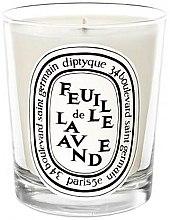 Парфюмерия и Козметика Ароматна свещ - Diptyque Feuille de Lavande Candle