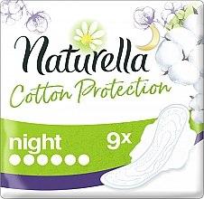 Парфюми, Парфюмерия, козметика Дамски превръзки с крила, 9 бр. - Naturella Cotton Protection Ultra Night