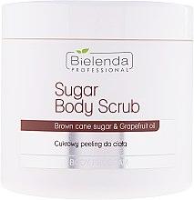 Парфюмерия и Козметика Захарен ексфолиант за тяло - Bielenda Professional Body Program Sugar Body Scrub