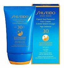 Парфюмерия и Козметика Слънцезащитен крем за лице - Shiseido Expert Sun Protection Face Cream SPF30