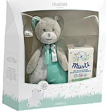 Парфюмерия и Козметика Mustela Musti - Комплект (тоал. вода/50ml + играчка)