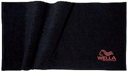 Парфюмерия и Козметика Кърпа за глава, 90х102 см - Wella Professionals Appliances & Accessories Towel Black
