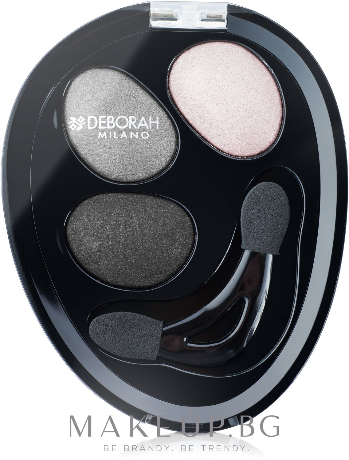 ПОДАРЪК! Сенки за очи - Deborah Hi-Tech Eye Shadow Trio  — снимка 01 - Ethereal Smoky