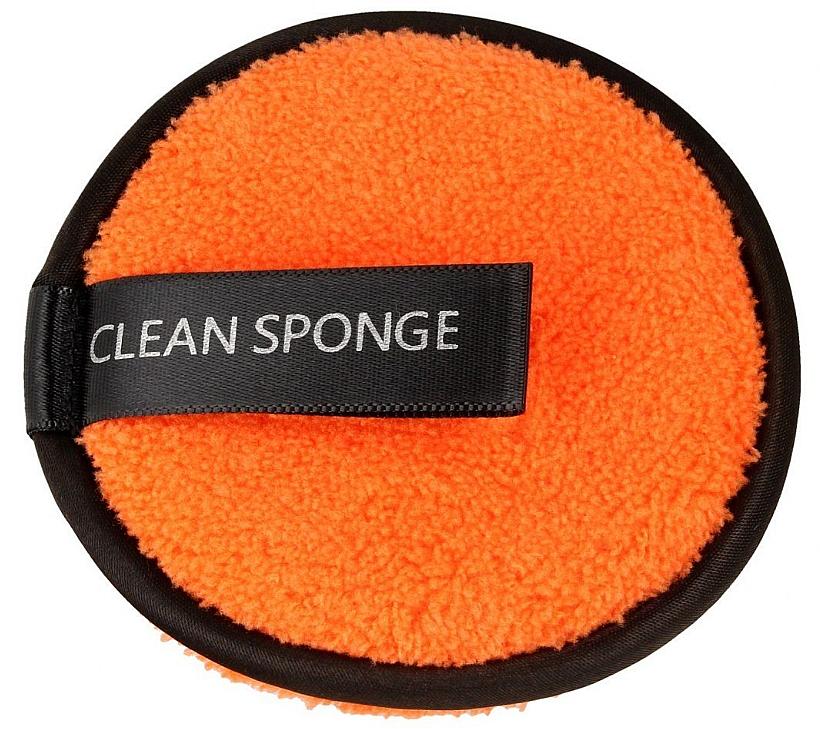 Почистваща гъба за лице, оранжева - Top Choice