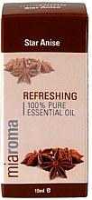 """Парфюмерия и Козметика Етерично масло """"Звездовиден анасон"""" - Holland & Barrett Miaroma Star Anise Pure Essential Oil"""