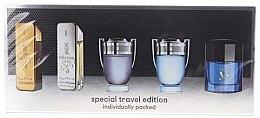Парфюмерия и Козметика Paco Rabanne Mini Set For Men - Комплект тоалетна вода (edt/5mlx5)