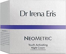 """Парфюми, Парфюмерия, козметика Нощен крем за лице """"Активация на младостта"""" - Dr Irena Eris Neometric Youth Activating Night Cream"""