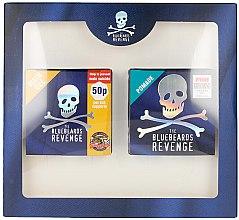 Парфюмерия и Козметика Комплект за коса - The Bluebeards Revenge Slik And Shine Hair Kit (гел за коса/100ml + помада за коса/100ml)