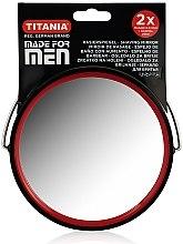 Парфюмерия и Козметика Двустранно огледало за мъже за бръснене - Titania
